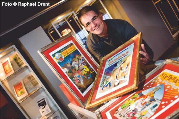 Illustrator en striptekenaar Arie van Vliet