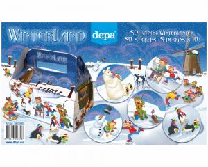 Depa kidbox Winterland promotie