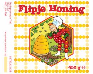Etiket Flipje honing