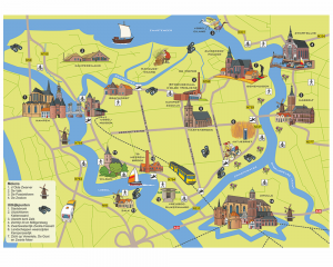 VVV Kampen plattegrond
