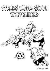kleurkaart voetbal