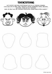 tekenen gezichten