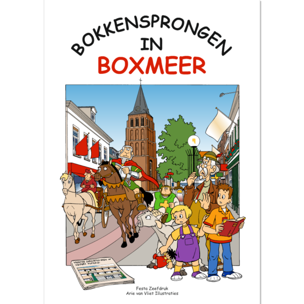 Bokkensprongen in Boxmeer
