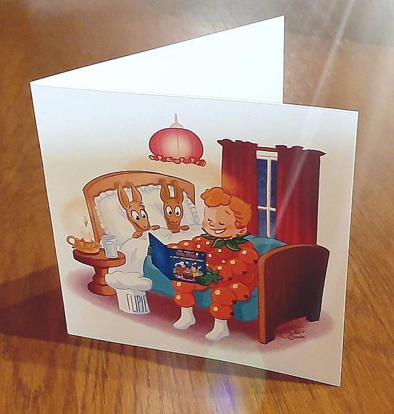 Flipje kaart cadeau